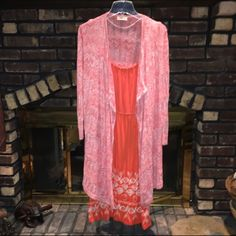 LOFT coral/white long open cardigan NWOT heathered coral/white lightweight open sweater cardigan by LOFT. Never worn. Perfect condition and so perfectly colored!! I'm open to reasonable offers & give bundle discounts!! 😊☮❤️✌️ LOFT Sweaters Cardigans