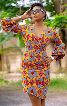 Dresses: Fashionable African Wear Styles in 2019 -African Dresses: Fashionable African Wear Styles in 2019 - Latest Ankara fashion dresses Latest Ankara Fashion Little white Ethiopian dress. The Luchi African print Ankara dress African Wedding Dress, Latest African Fashion Dresses, African Dresses For Women, African Print Dresses, African Print Fashion, African Attire, African Women, Nigerian Fashion, Ghanaian Fashion