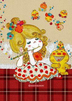 水森 亜土ちゃん!の画像 プリ画像 Pretty And Cute, Pretty Art, Kawaii Illustration, Manga Drawing, Collage Sheet, Vintage Japanese, Art Girl, Cute Kids, Comic Art