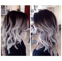 like the color - not sure if I can hold the dark root though. goal is to transition to gray...