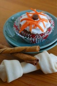 *****Carrot, apple, honey, peanut butter dog birthday cake recipe*****