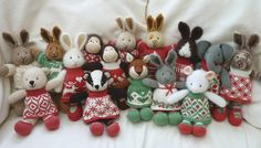 Little Cotton Rabbits ~cute