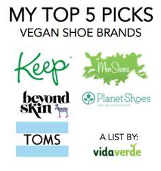 My Top 5 Picks: Vegan Shoe Brands