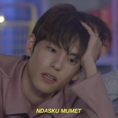❞ Imagine Nonbaku Humor All the names and the pictures inside this story are credit to owner. Memes Funny Faces, Funny Kpop Memes, Cute Memes, Bago, K Meme, Cute Cartoon Images, Kim Wonpil, Drama Memes, Cartoon Jokes