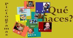 Fichas de infantil con pictogramas con acciones cotidianas #pictogramas Un pictograma es un signo que representa esquemáticamente un símbolo, objeto real o figura. Es el nombre con el que se denomina a los signos de los sistemas alfabéticos basados en dibujos significativos.