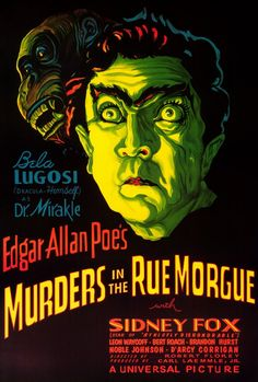Murders In The Rue Morgue... mom helped me read this when I was 8. From then on, I was fascinated with Poe. Pretty morbid stuff.