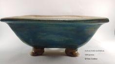 vasos em cerâmica de alta temperatura  bonsai