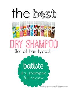 Dry Shampoo Review/Recommendation