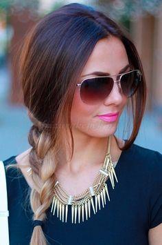 fonott frizurák félhosszú hajból - Google keresés