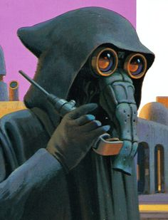 """This Ralph McQuarrie portrait of Garindan can be found in the 1995 Mos Eisley Cantina Pop-up Book. Garindan, also called Long-Snoot, was a Kubaz who was considered to be the """"greatest spy in Mos Eisley spaceport. Ralph Mcquarrie, Edge Of The Empire, Conceptual Drawing, Star Wars Concept Art, Star Wars Rpg, Star Wars Images, Up Book, Star Wars Characters, Rogues"""