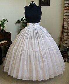FREE Vintage Hoop Petticoat Sewing Pattern and Tutorial