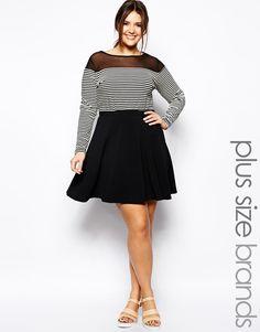 Pink Clove Skater Skirt