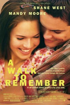 Year: 2002  Cast: Mandy Moore, Shane West, Peter Coyote, Daryl Hannah, Lauren German, Clayne Crawford  Directed By: Adam Shankman