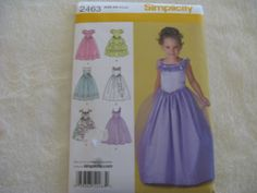 Simplicity Girls Princess/Special Occasion by KCDesignandBuild, $3.00