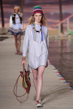 From the islands with love: #TommySpring16 #NYFW