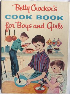Vintage 1957 Betty Crocker Cook Book for Boys and Girls by Angel Grace Jewelry, Womens Belt Buckles, Snap On , via Flickr