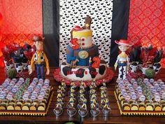 Festejando com Carinho: Uma festa Toy Story bem rústica!