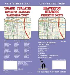 Beaverton, Hillsboro and Washington County, Oregon by GM Johnson