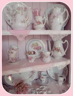 MY SHABBY FRENCH LIFE : UN BUFFET SHABBY CHIC