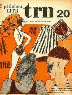 Gallery - Czech avant-garde journals  časopis / journal  TRN 6.ročník 1930    Quido Langhans Praha 1930  edited by Zdena Ancik