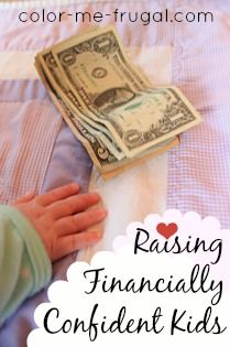 Raising financially confident kids can be difficult in today's culture of instant gratification. Discover keys for helping children become money savvy!