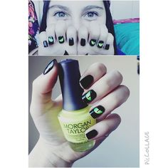 Morgan Taylor Glow in the Dark Top Coat. Available at CosmoProf Beauty