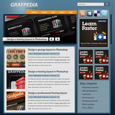 How to make a creative blog layout #phtooshop