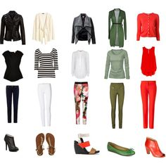 Autumn capsule wardrobe. 15 pieces. 150 combinations.