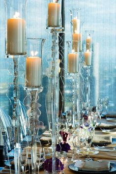 HMR Designs acrylic candle holders