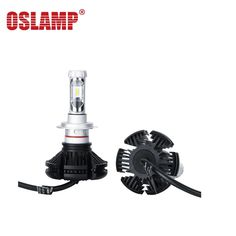 45.00$  Watch now - http://alizaf.shopchina.info/1/go.php?t=32808959841 - Oslamp X3 H7 Car LED Headlight Bulbs 50W All in one CSP LED Headlamp Fog Light 3000K 6500K 8000K 12V for Ford BMW  #magazineonlinewebsite