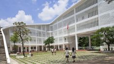 "People in Vietnam want ""green buildings"" - Vo Trong Nghia on Binh Duong School"