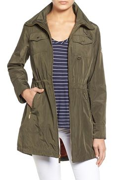 MICHAEL MICHAEL KORS Elongated Utility Jacket. #michaelmichaelkors #cloth #