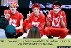 exo cute facts - Sehun