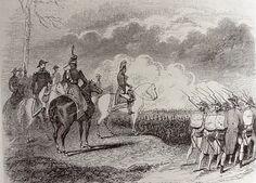 Napoleone rassegna le truppe