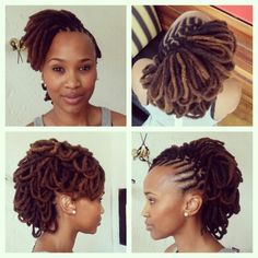 65 best Female loc styles images on Pinterest | Natural Hair ...