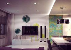 Palette de couleur du salon moderne- froide, chaude ou neutre?