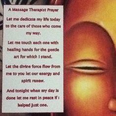 Massage Prayer
