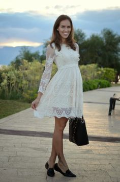 40 Gorgeous Lace White Dresses For Every Girl0081