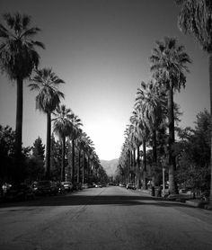 Looking down Cajon Street from the Cajon/ Palm intersection ~ Jennifer Braze