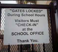 Give the gate a jiggle, it'll open right up.