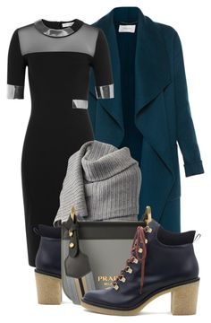 """""""Untitled #3611"""" by sonjamilica on Polyvore featuring L.K.Bennett, Thierry Mugler, Acne Studios, Miista and Prada"""