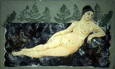 green - woman - Kirsi Neuvonen Sculpture, Ceramics, Woman, Green, Photography, Painting, Art, Kunst, Ceramica