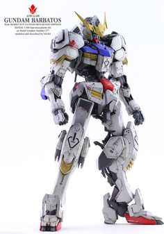 Custom Build: 1/100 Gundam Barbatos - Gundam Kits Collection News and Reviews