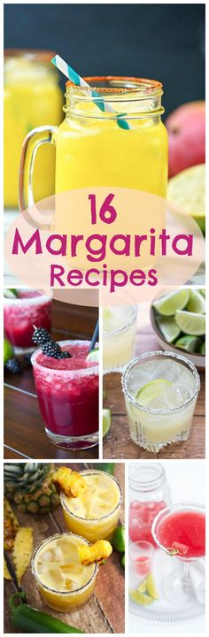 Enjoy these 16 Margarita Recipes as part of your Cinco de Mayo celebration! Is there really a better excuse to have a few (or more)? The margarita is one of my favorite cocktails and I love all the fresh fruit flavors for spring. I only wish I could try ALL of these today! You can...Read More » #cocktails #cincodemayo #margaritas