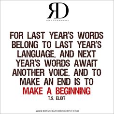 Happy new year #rdpquotes