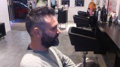 #Corte de #pelo #hombre realizado por Sandra en la mejor #peluquería de #Castelldefels @MiSalon_Castell