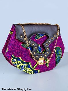African Print Bag by THEAFRICANSHOP on Etsy, £30.00