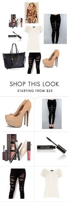 """Aeroporto"" by camiladacunha ❤ liked on Polyvore featuring AX Paris, Tripp, Laura Mercier, Bobbi Brown Cosmetics, Akira, Louis Vuitton and Dorothy Perkins"