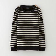 A.P.C. Sailor Sweatshirt | Women's Sweatshirts | Steven Alan
