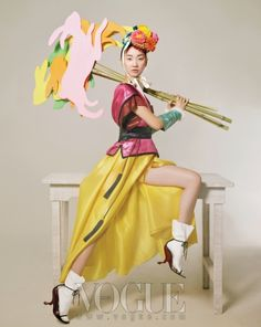 Vogue Korea February '11. Happy Bunny Girl ft. Jang Yoon Ju, by Lee Gun-Ho.